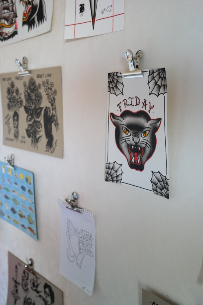 Hanging Pictures with Bulldog Clips